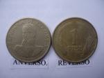 monedas de America - Colombia -  Un Peso-1974