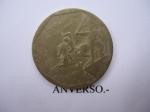 monedas de America - Colombia -  Rep. de Col.- Monumento al Prócer José Mª Córdoba