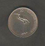monedas de Europa - Eslovenia -  Ciconia Ciconia