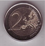 monedas de Europa - España -  conmemorativa del X aniv. del Euro