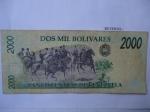 monedas de America - Venezuela -  Bco. Central de Venazuela- Ejercito Libertador