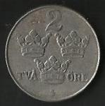 monedas de Europa - Suecia -  MONEDA DE SUECIA - CORONAS (FRONTAL)