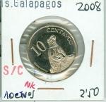 monedas de Europa - Ecuador -  MONEDA
