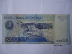monedas de America - Venezuela -  Banco Central de Venezuela- Represa de Guri.