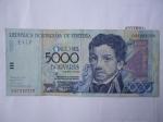 monedas de America - Venezuela -  Republica Bolivariana de V/zuela- Francisco de Miranda