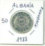 monedas de Europa - Albania -  MONEDA