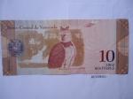 monedas de America - Venezuela -  Banco Central de Venezuela- Aguila Arpía y el Parque Nacional de Canaima.