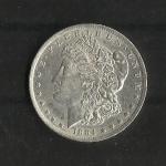 monedas de America - Estados Unidos -  Dolar Morgan / Anverso