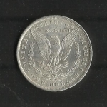 monedas de America - Estados Unidos -  Dolar Morgan / Reverso