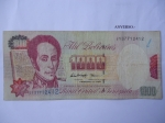 monedas de America - Venezuela -  Simón Bolívar.