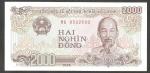 monedas de Asia - Vietnam -  Ho Chí Minh, Presidente de la República Democrática de Vietnam