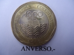 monedas de America - Colombia -  República de Colombia- $1.000 (Anverso)