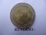 monedas de America - Colombia -  República de Colombia-Rana de cristal- $500 (Reverso)
