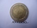monedas de America - Colombia -  República de Colombia- $500 (Anverso)