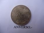 monedas de America - Colombia -  República de Colombia-$200 (Anverso)