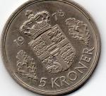 monedas de Europa - Dinamarca -  margrethe II