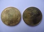 monedas de America - Colombia -  República de Colombia-$100