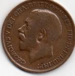 monedas de Europa - Reino Unido -  georgivs v