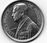 monedas de Europa - Mónaco -  principe luis II