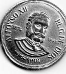 monedas de Europa - España -  alfonsoxII