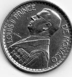 monedas de Europa - Mónaco -  luisII