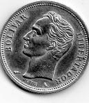 monedas de America - Venezuela -  bolivar livertador