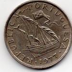 monedas de Europa - Portugal -  republica portugesa