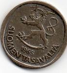 monedas de Europa - Finlandia -  soumen tasavaltar
