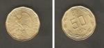 monedas de America - Chile -  Cóndor sobre una roca