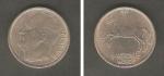 monedas de Europa - Noruega -  Rey Olav V y caballo