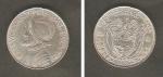 monedas de Europa - Portugal -  Vasco Núñez de Balboa y Escudo Nacional
