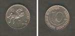 monedas de Europa - Eslovenia -  Caballo