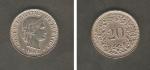 monedas de Europa - Suiza -  Confederación Helvética y Ramas de parra