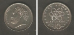 monedas de Europa - Grecia -  Demócrito