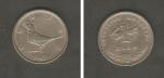 monedas de Europa - Croacia -  Slavuj (Ruiseñor)