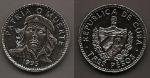 monedas de America - Cuba -  Che Guevara - Patria o muerte