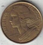 monedas de Europa - Francia -  10 Centimes