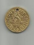 monedas de America - Costa Rica -  moneda thaler