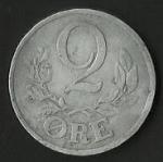 monedas de Europa - Dinamarca -  MONEDA DENMARK 1945 - FRONTAL