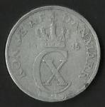 monedas de Europa - Dinamarca -  MONEDA DENMARK 1945 - POSTERIOR