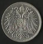 monedas de Europa - Hungría -  MONEDA IMPERIO AUSTRO HUNGARO 1911 - POSTERIOR