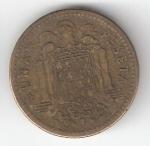 monedas de Europa - España -  1 pta Franco 1947 (*1949) RC
