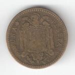 monedas de Europa - España -  1 pta Franco 1947 (*1951) RC