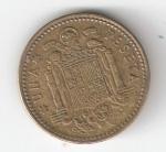 monedas de Europa - España -  1 pta Franco 1953 (*1960) RC