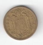 monedas de Europa - España -  1 pta Franco 1953 (*1962) RC