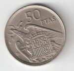monedas de Europa - España -  50 ptas Franco 1957 (*1958) BC