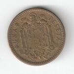 monedas de Europa - España -  1 pta Franco 1963 (*1966) BC
