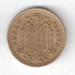 monedas de Europa - España -  1 pta Franco 1966 (*1968) BC