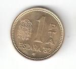 monedas de Europa - España -  1 pta Juan Carlos I 1980 (*1982) Mundial de Fútbol EBC