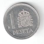 monedas de Europa - España -  1 pta Juan Carlos I 1983 (*M) EBC